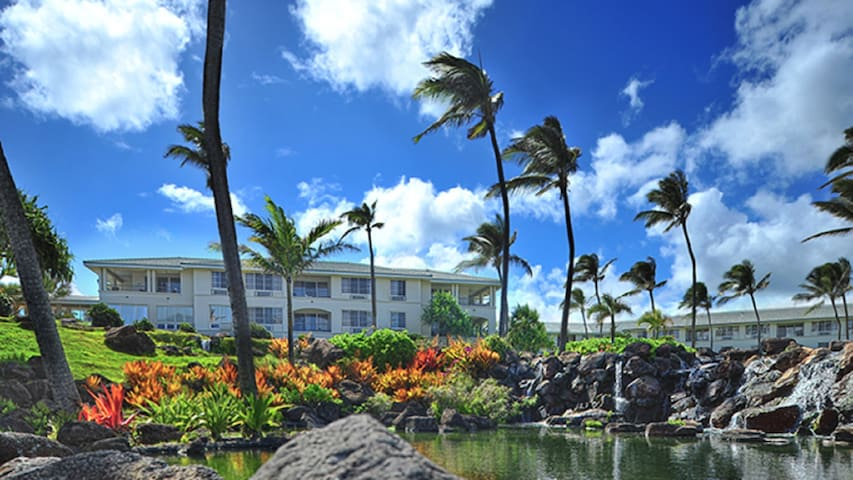 Point at Poipu Resort- 2 bedrooms garden view