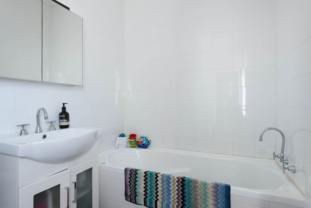 Master ensuite with bath and shower (not in photo)