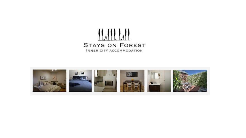 Stays on Forest - Bendigo