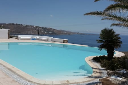 Villa Ornos Alogomandra 130 sqm with pool - Kondominium