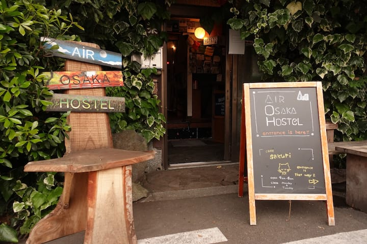【Sale now!】4people Private room【Cafe and hostel】