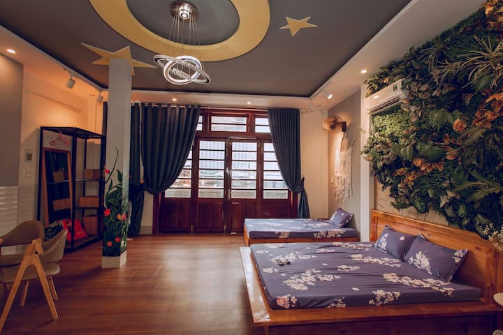 Home sweet home in Quy Nhon central & Green Room