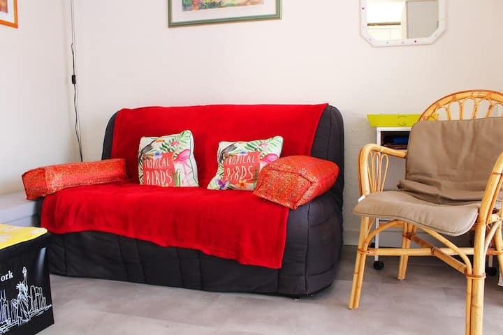 Little Cosy apartment for 4 people in Cap d'Agde