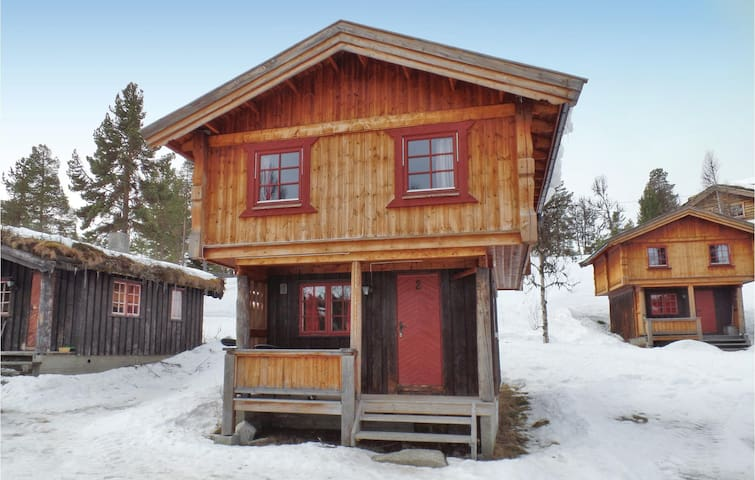 Holiday cottage with 2 bedrooms on 60m² in Ringebu