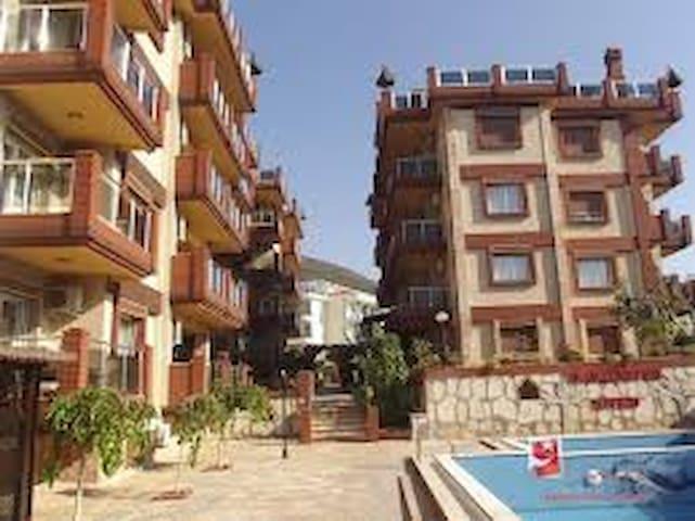 2 bedroom modern apartment with pool and gym - Kusadasi - Apartament