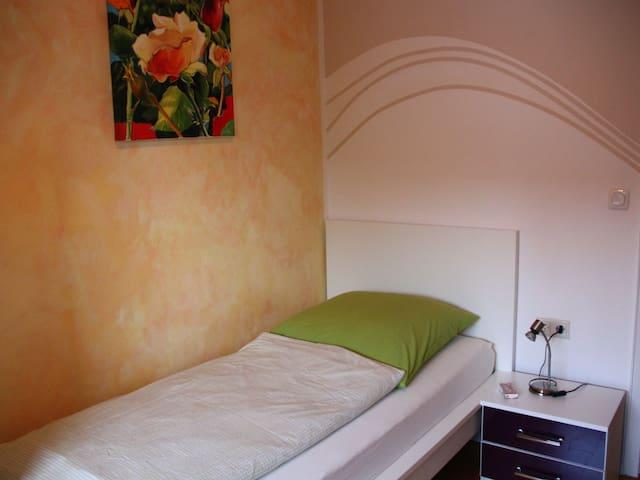 """Ferienwohnungen PANO, (Friedrichshafen), Ferienwohnung """"Rose"""", 60qm, 2 Schlafzimmer, max. 4 Personen"""