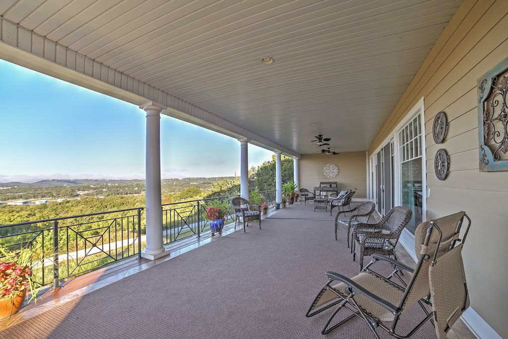 Experience a one-of-a-kind views of the Branson area from this gorgeous property.