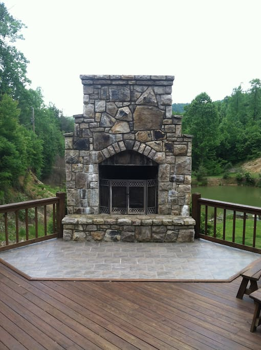 Fireplace in your Outdoor Living Room