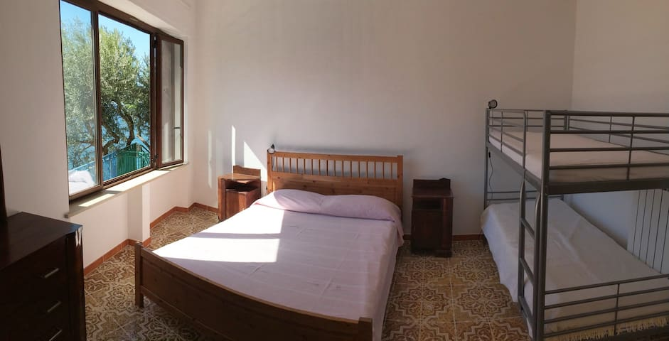 The bedroom with seaview