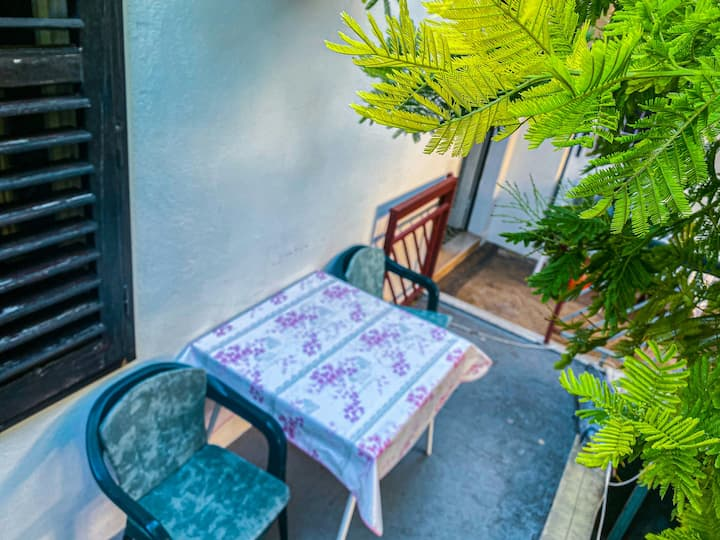 Guest House Porobic: Double Room With Terrace