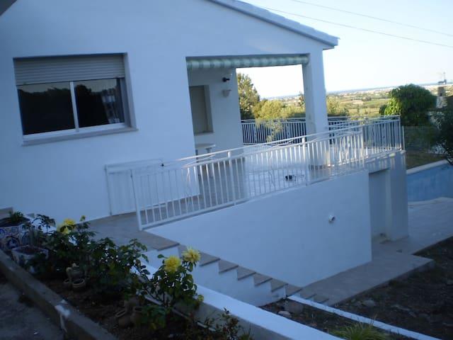 villa spacieuse et très agréable