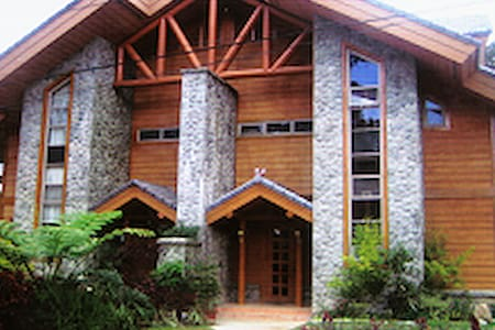 Camp John Hay Luxury house 4 rent2 - Baguio - Kisház