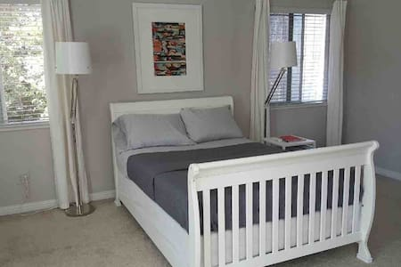 SPACIOUS master bedroom in SAFE neighborhood