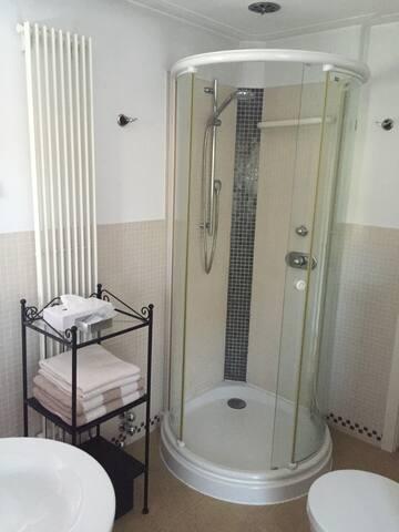 Lovely shower