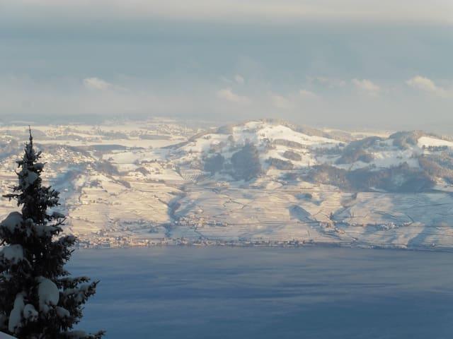 Appartement avec splendide vue sur Lac Léman