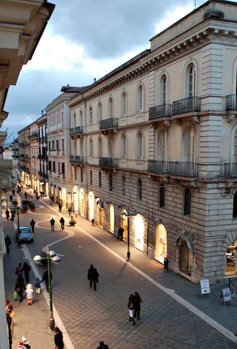 Il Corso Garibaldi