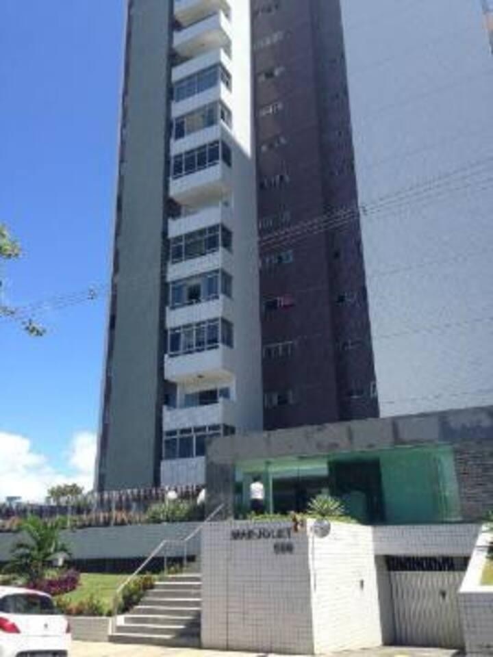Quarto de casal para alugar em Boa Viagem - Recife