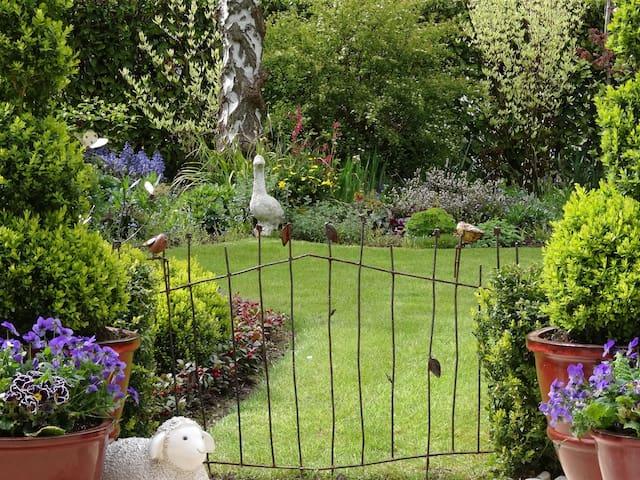 Un jardin à la Haute Borne - Villeneuve-d'Ascq - Huis