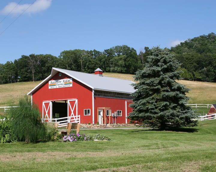 Rainbow Ridge Farms B&B----------Green Room