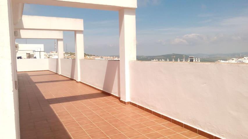 Atico con enorme terraza privada - cVejer de la Frontera, Andalucía, ES - Ház