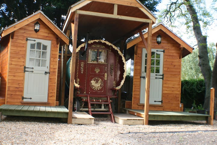 Authentic Gypsy Caravan, Romani Wagon