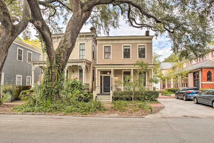 NEW! Victorian Savannah Home; Walk to Forsyth Park