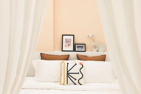 长春最美网红民宿/馥屿--拾六城市民宿/63平独立一居室公寓/120寸高清投影/自助入住