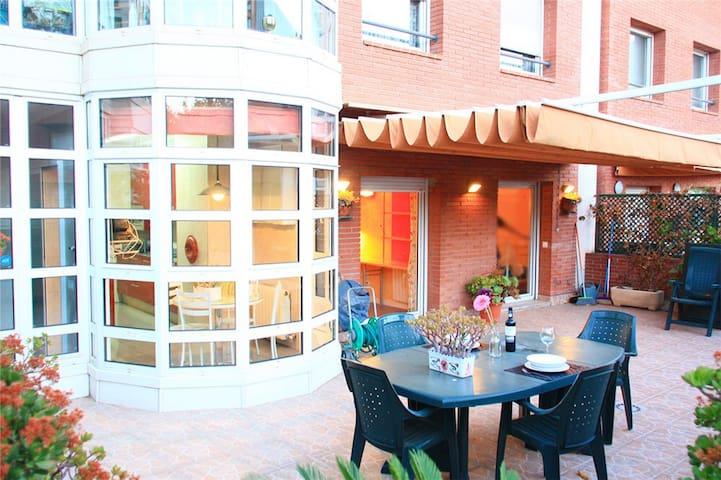 巴塞罗那奥林匹克港口的独立好房 - บาร์เซโลนา - อพาร์ทเมนท์