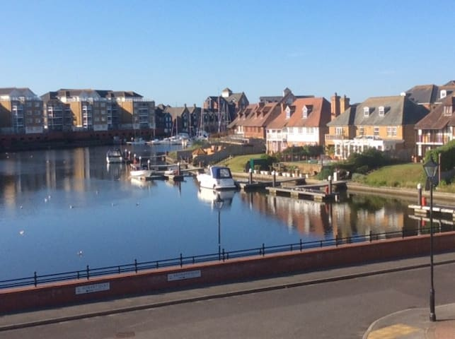 Sovereign Harbour views and a comfortable room