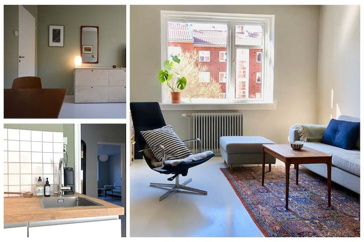 Central apartment at Tøyen, 5 min from Oslo S
