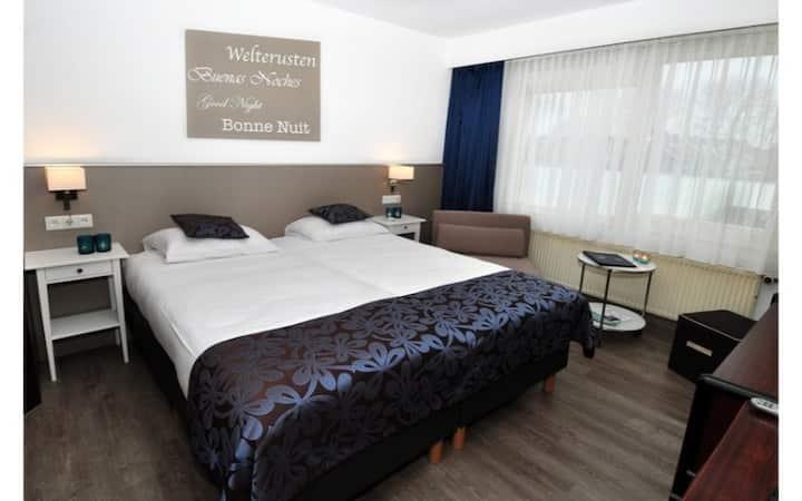 Comfort Tweepersoonskamer met twee bedden