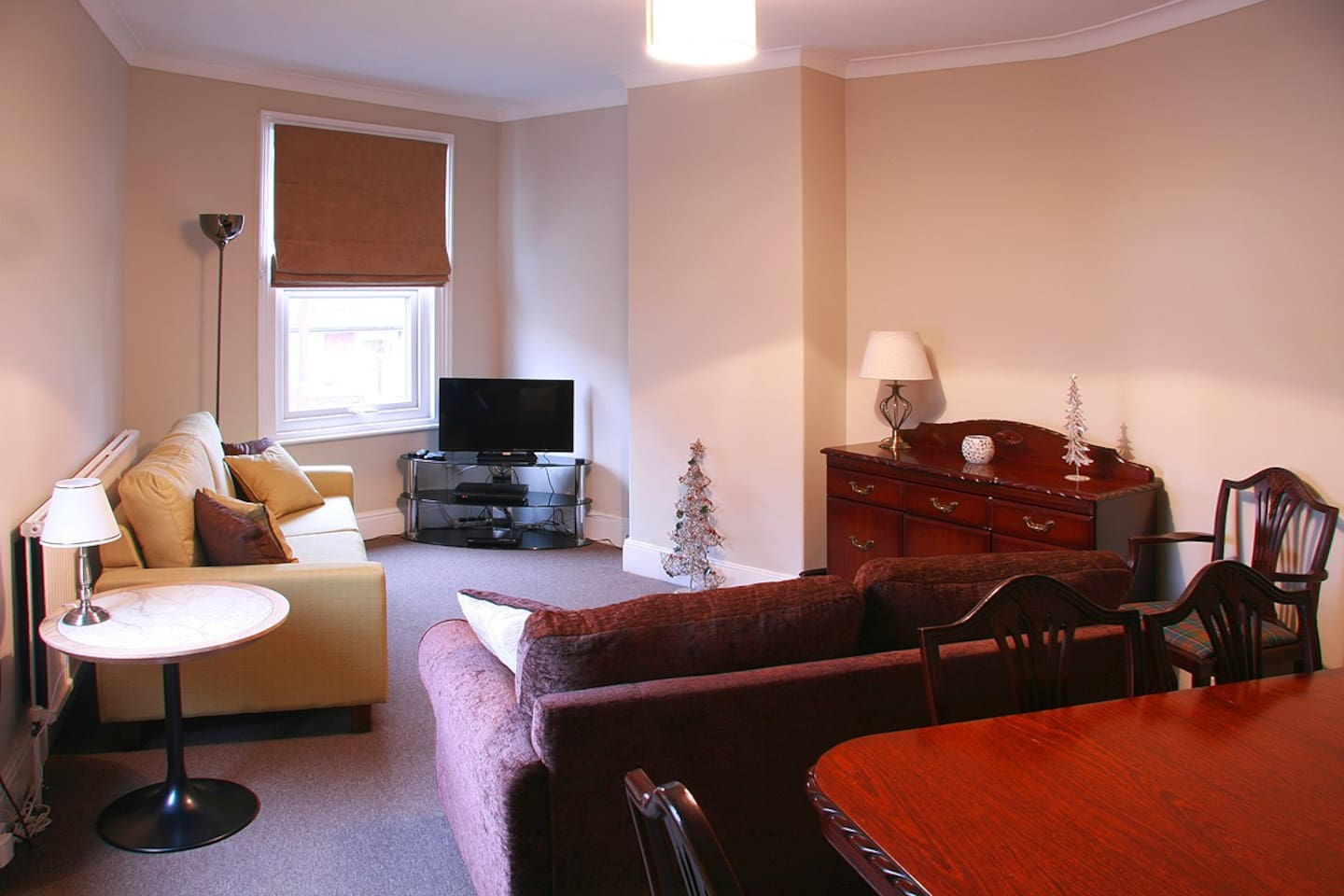 Lounge with double Sofa bed