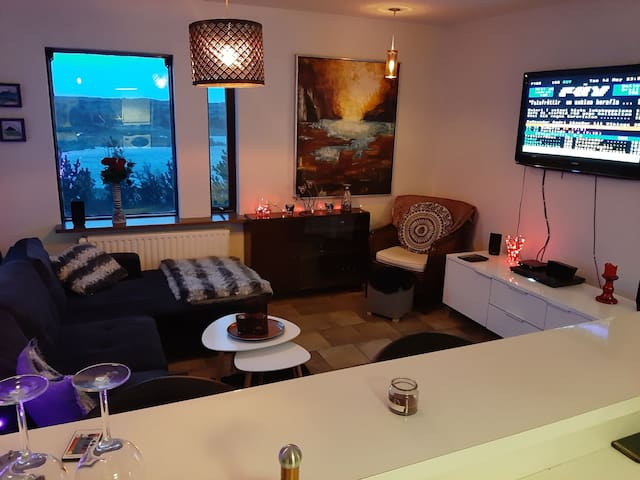 Cosy apartment in urban Reykjavik