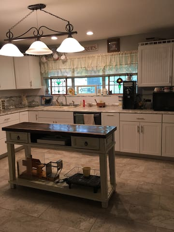 Large open kitchen all new!