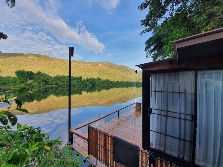 Riva KG House #1 by the river (Near Erawan Falls)