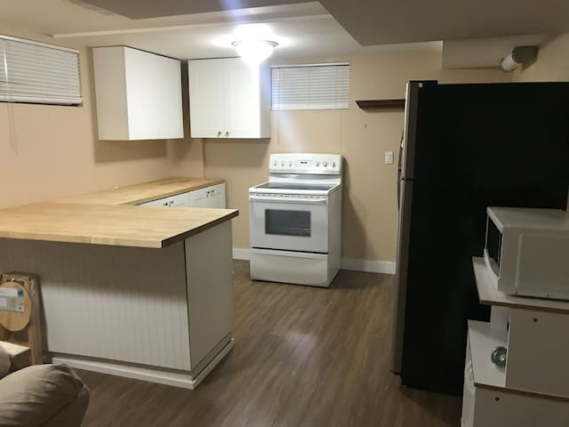 1 bedroom basement apartment in secure family home