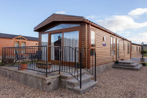 Luxury Lodge in central Perthshire
