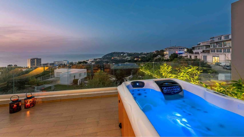 Fly View Flats BLUE !!! Jacuzzi Sea View (2020)