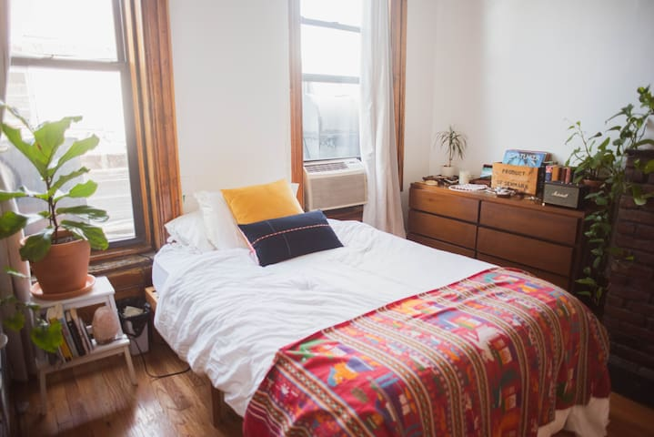 Sun-drenched room in the heart of Fort Greene
