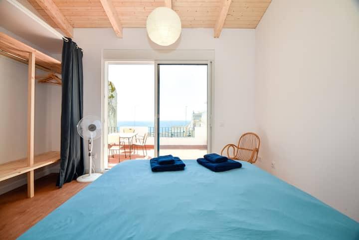Maison de la mer, cerca de Barcelona, 5' playa