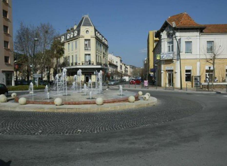Quartier de la gare