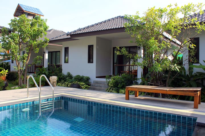 New 1 Bedroom & Pool near Beach A - Ko Samui - Huis