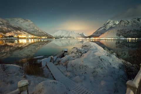 Rulten Lodge - spectacular by the fjord in Lofoten