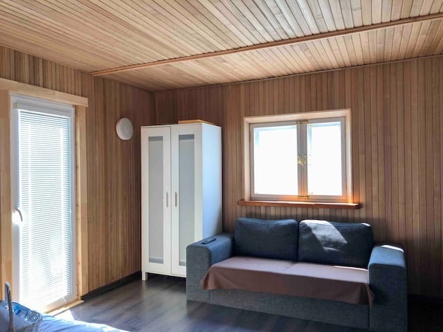 Fetisov house with sauna, free airport transfer!