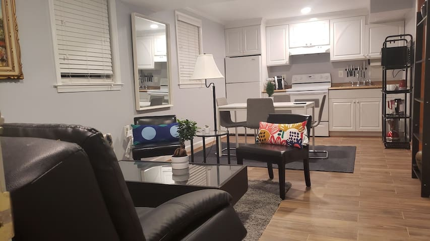 Cozy basement apartment. Minutes from UM and Metro