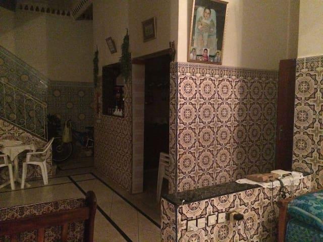 Traditionelle maison a rabat - Rabat - Appartement