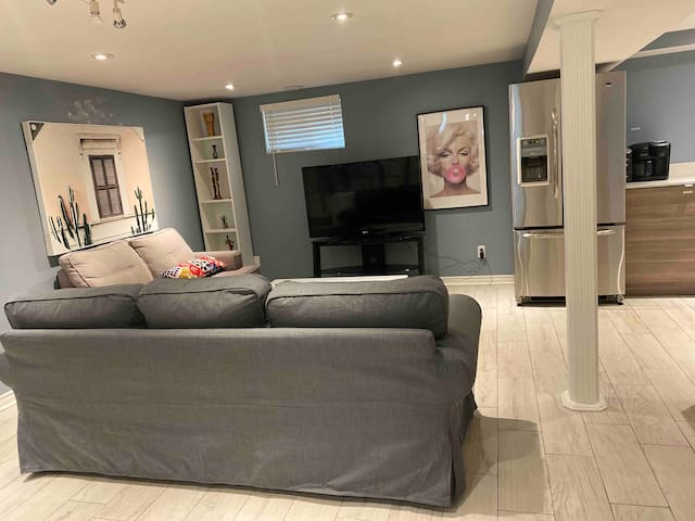 North York; Freshly Renovated Bsmt Studio Apt