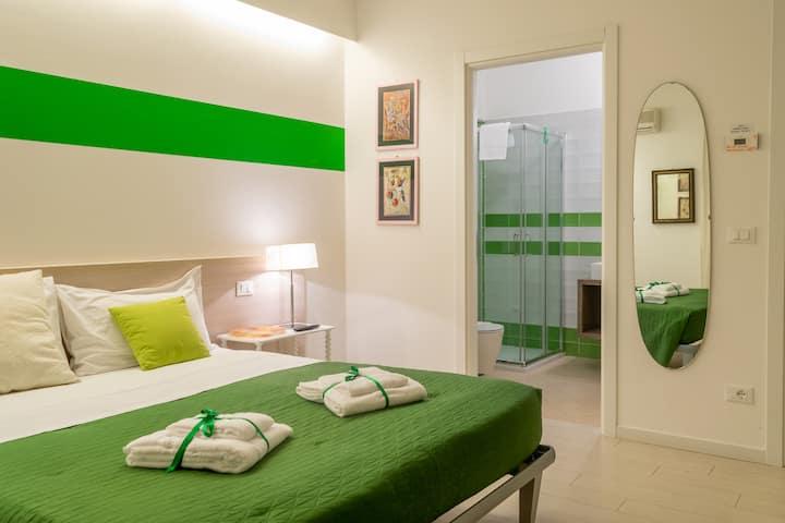 123 Casa Stella - Πράσινο Δωμάτιο