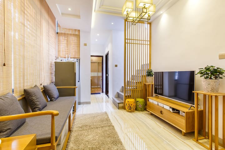 北京路地铁口空中花园安静独立单间 - Guangzhou - Huis