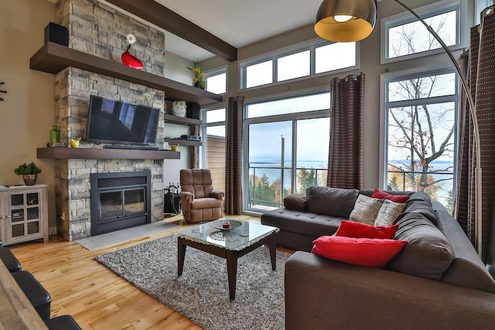 Les Sommets Charlevoix #150 - Baie-Saint-Paul - 飯店式公寓